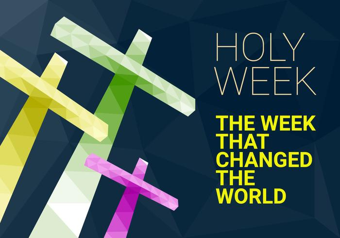 free-holy-week-vector-illustration