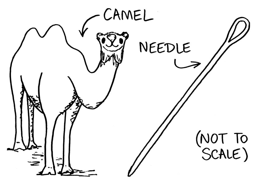 camel-and-needle-cartoon