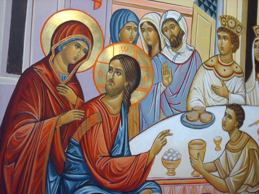 Image result for wedding feast at cana