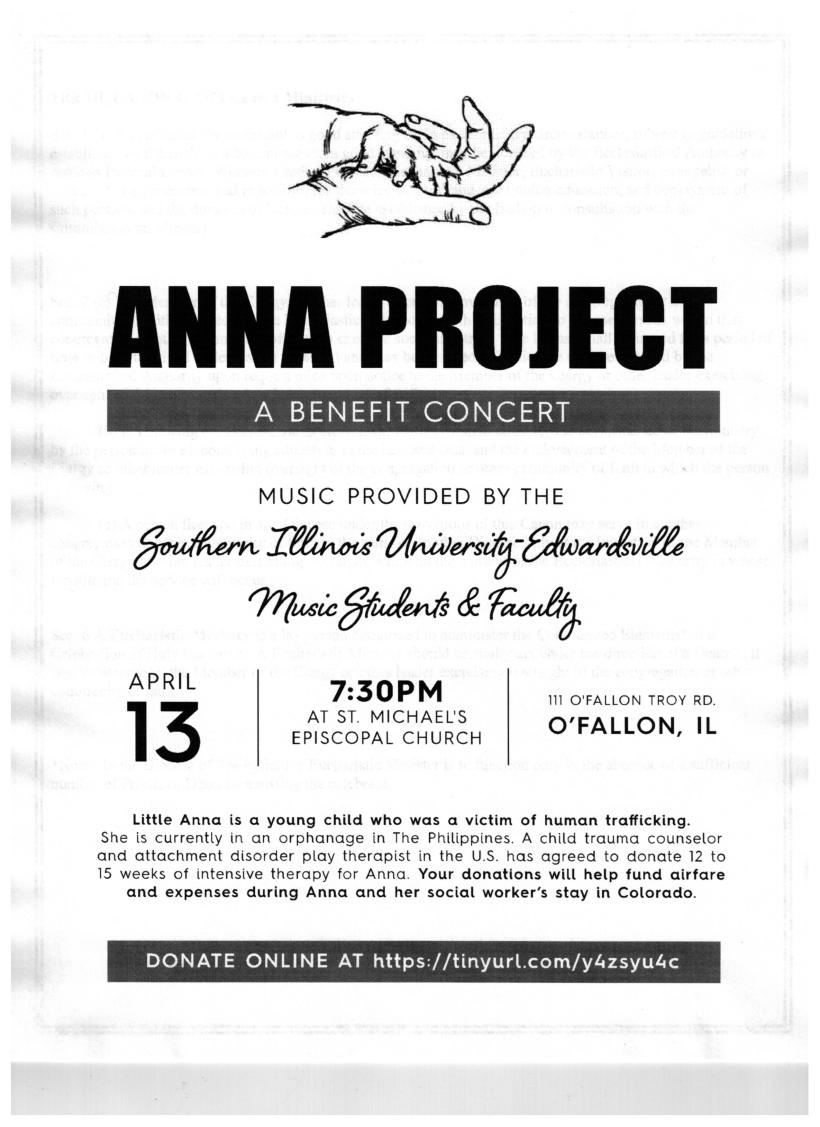Anna Project poster.2019
